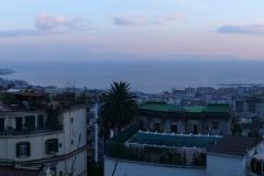 Golf von Neapel in der Abenddämmerung