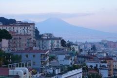 Neapel in der Abenddämmerung