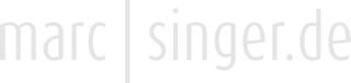 marc|singer.de | Homepage von Marc Singer